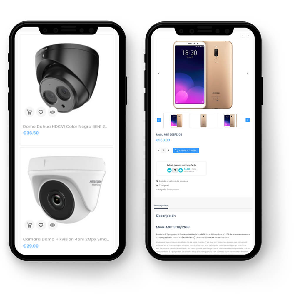 Producto WooCommerce Mobile