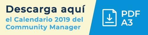 Baner Calendario CM 2019