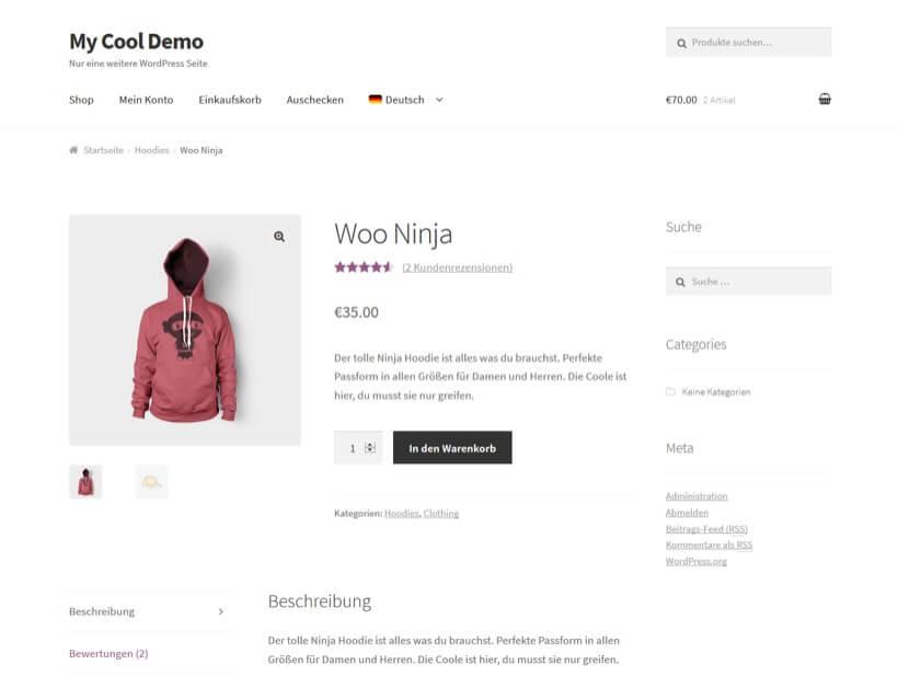 WooCommerce en varios idiomas