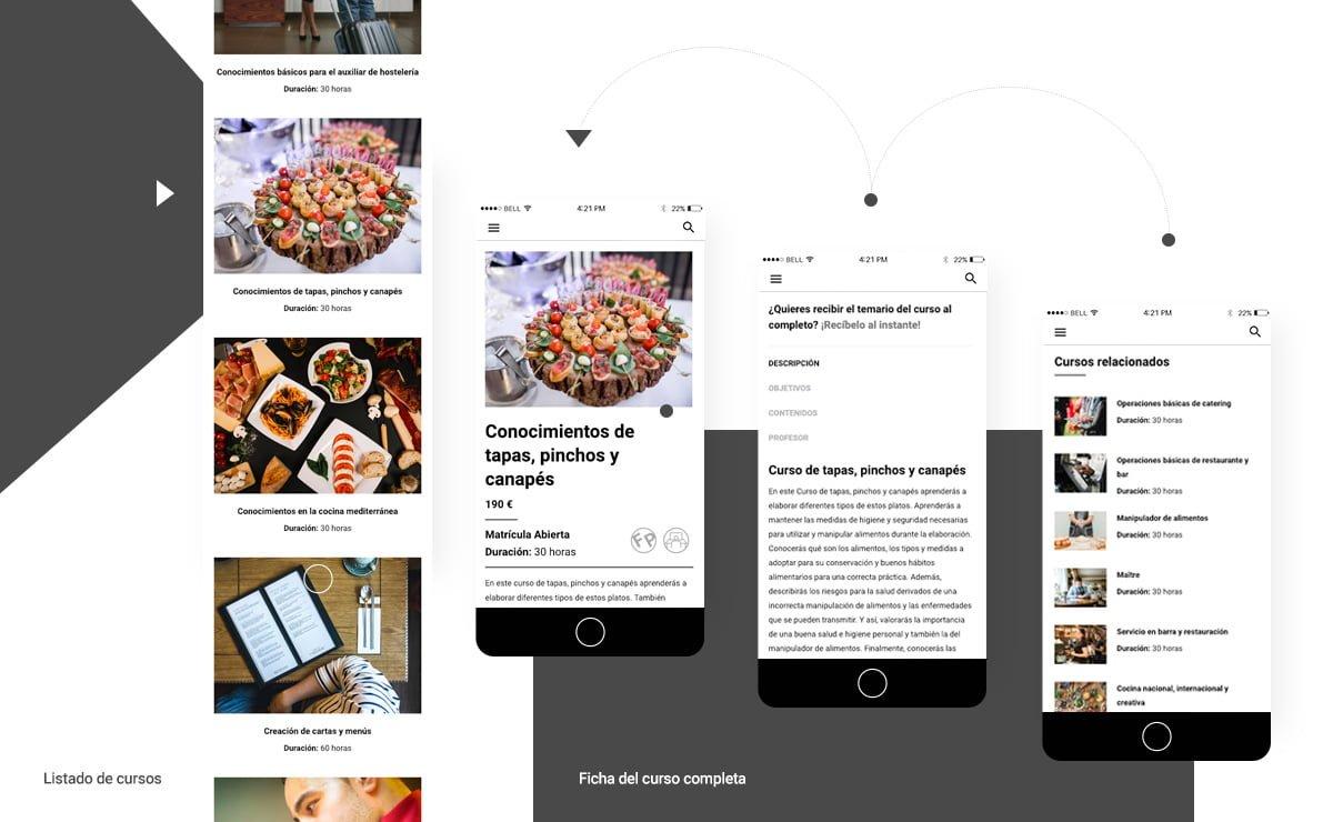 Proyecto Web HTS School - Mobile