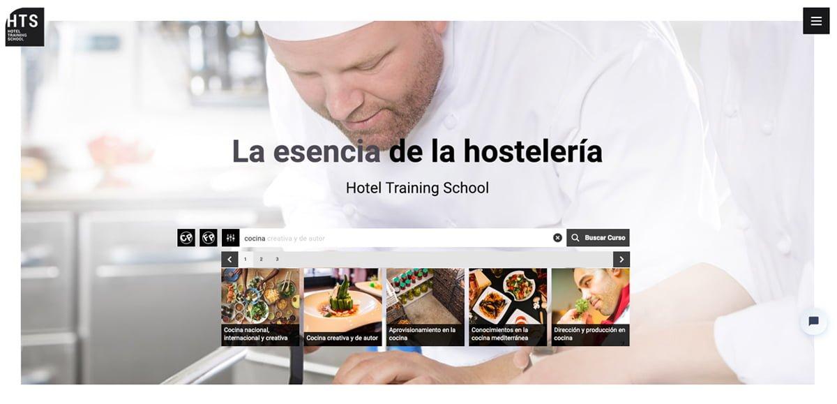 Proyecto Web HTS School - Presentación